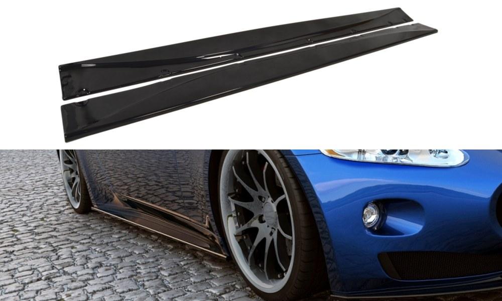 Dokładki Progów Maserati Granturismo 07-11 - GRUBYGARAGE - Sklep Tuningowy